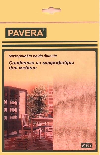 Салфетка из микрофибры для мебели арт.P209
