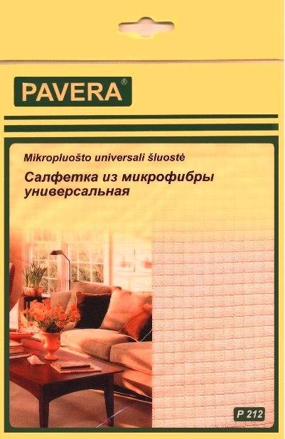Салфетка из микрофибры универсальная арт.P212